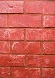 Mur rouge de Bricked Photographie stock libre de droits