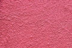 Mur rouge de plâtre, fond Photo stock