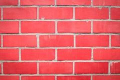 Mur rouge des blocs rouges photos stock