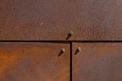 Mur rouillé Photographie stock libre de droits