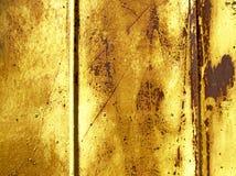 Mur rouillé de fragment Images libres de droits