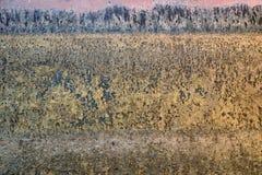 Mur rouillé en métal image libre de droits