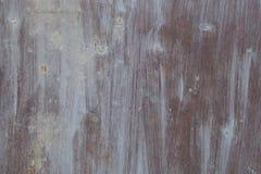 Mur rouillé en métal Vieille texture rouillée de plategrunge en métal Photo libre de droits