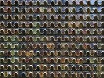 Mur rugueux de tuile de vintage Images libres de droits