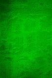 Mur rugueux et vert Photographie stock libre de droits