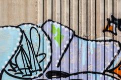 Mur saccagé photo libre de droits