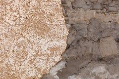 Mur sale et vieux Images libres de droits