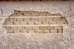 Mur sale et vieux Images stock