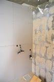 Mur sec de doublure Photos libres de droits