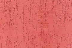 Mur strié rouge de stuc images libres de droits