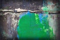 Mur superficiel par les agents Image libre de droits
