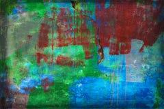 Mur superficiel par les agents Photo libre de droits