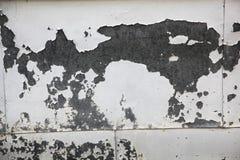 Mur superficiel par les agents en métal Images libres de droits