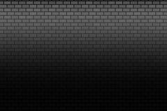 Mur sur le fond foncé Bannière de briques de Stonewall illustration de vecteur