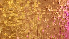Mur texturisé d'or clips vidéos