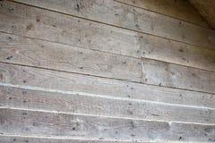 Mur texturisé de grain en bois en bois Image libre de droits