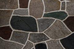 Mur texturisé de roche Photos libres de droits