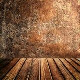 Mur texturisé en bois pour la présentation de produit Art Natural Dark Wo Images libres de droits