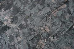 Mur texturisé gris Approprié comme fond pour le texte et les photos Photos libres de droits