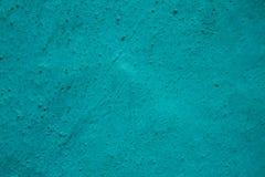 Mur texturisé grunge pointillé par turquoise photographie stock libre de droits