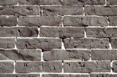 Mur texturisé rugueux dans le noir Images libres de droits