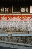 Mur traditionnel Images libres de droits