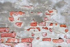 Mur utilisé par temps Images libres de droits
