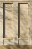 Mur vers le haut d'hublot Image stock