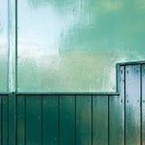 Mur vert Photo stock