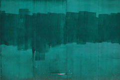 Mur vert Photo libre de droits