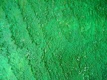 Mur vert Photographie stock libre de droits