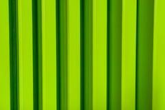 Mur vert en métal Photo libre de droits