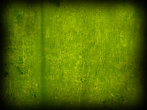 Mur vert minable Photos libres de droits