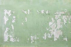 Mur vert vide d'affiche Image libre de droits