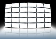 Mur visuel illustration libre de droits