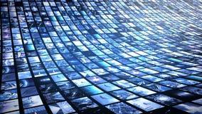Mur visuel animé 4K illustration libre de droits