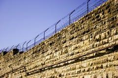 mur więzienia Zdjęcia Royalty Free