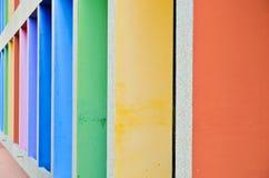 Mura di cemento Fotografia Stock