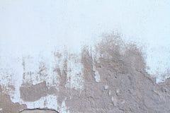 Mura di cemento nocivi Superficie afflitta dipinta della parete immagini stock libere da diritti