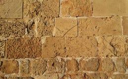 Mura di cinta di San Giovanni d'Acri Fotografia Stock