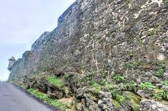 Mura di cinta di San Juan, Porto Rico Fotografia Stock Libera da Diritti