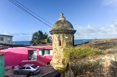 Mura di cinta di San Juan, Porto Rico Fotografie Stock Libere da Diritti