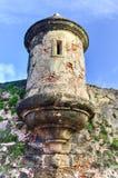 Mura di cinta di San Juan, Porto Rico Immagine Stock Libera da Diritti