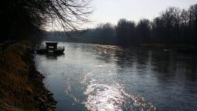 Mura rzeka Zdjęcia Royalty Free