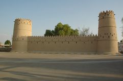 Murabba'a Fort, City of Al Ain Stock Image