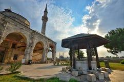 Muradiye moské Edirne royaltyfria foton