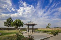 Muradiye moské Edirne arkivbild
