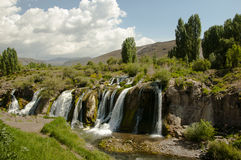 Muradiye waterfall. In Eastern Turkey Stock Photo