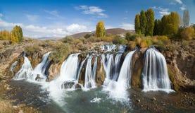 Muradiye waterfalls Stock Photos