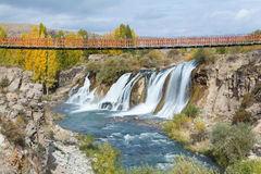Muradiye waterfalls Royalty Free Stock Photos